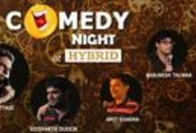 A Comedy of Trial & Error at HYBRID / A stand up #comedy gig featuring #comedians from all walks of life.The crowd gathered in huge number to give a break to their mundane lives and get involved in the flavor of the evening which promised to serve them with tempting food, drinks & lots of #laughter.