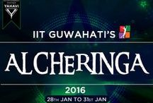 IIT Guwahati-ALCHERINGA 2016 / IIT GUWAHATI presents the biggest cultural extravaganza of North East India ALCHERINGA 2016. Alcheringa is by far the largest cultural festival of North-East India and since its inception has served as a pioneer of art and culture for the youth. The festival enjoys the mammoth footfall of over 70,000 and participation from over 400 colleges across India.