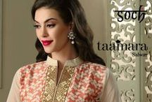 Taamara Salwars / #Soch launches its newest set of catalogs every month and Taamara is its latest addition. Check out the range of salwars curated for you enjoy your shopping to the fullest!
