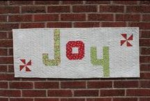 Rejoice Tablerunner Pattern / This board contains photos of projects made using the Rejoice pattern by Cynthia Brunz Designs.