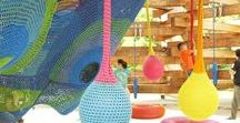 Amazing Playgrounds / Spaces to explore, play, relax, be inspired, be challenged.  From just a little out of the ordinary to designs with plenty of imagination, we love amazing playgrounds!