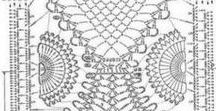 ananas motyw crochet