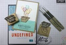 My Stampin' Up! Creations / Everything I create with my Stampin' Up! products. Stampin' Up! layouts, Stampin' Up! birthday cards, baby cards, masculin cards,