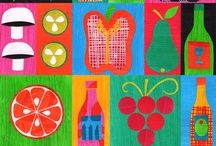 food and kitchen pattern