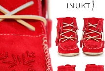 Fur Woolrich Leather Suede Moccasin Boots / www.inukt.com