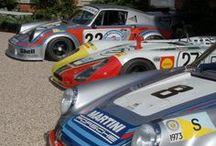 Garage Porsche Legend / Hommage à la firme légendaire de Stüttgart. Ingénieurs et designers ont créé de véritables oeuvres d'art, tandis que les pilotes les ont élevés au rang de mythe. Petit rappel en images. / by Emile Miglia