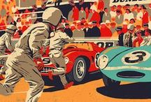Autos_Graphes / Affiches, peintures et dessins d'automobiles / by Emile Miglia