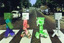 Minecraft / Serious pixels