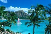 ~Hawaiian Islands~ / Noho me ka hau'oli  (Be Happy!) / by Lorie Foster