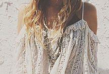 Bohemian girl / Bohemian style