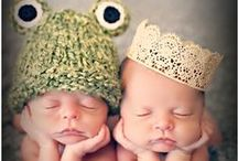 1+1= Twins ;) / Adorable Photographs Of Twins!