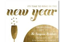 Exceptional New Year Invites / Invitations / Photo Cards