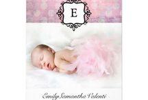 Exceptional Birth Announcements / Photo Birth Announcements