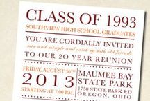 Exceptional Reunion Invites / Family / High School / College
