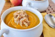 Soups / Receitas de sopas e cremes