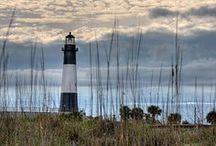 Guiding light / Lighthouses of the world / by Gary Barnett
