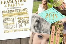 Graduation Party Ideas / Invitations / Party Decor / Games / Food / Gift Ideas