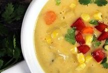 Soups / There is nothing better than a hot bowl of soup on a cold fall or winter day.  Enjoy these recipes with your family tonight!