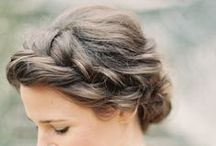 the wedding look / Hairstyles and Accessories!  / by erin beneze