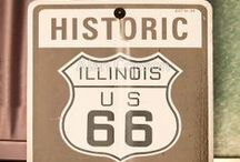 Route 66 / The old main road through America / by Gary Barnett