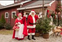 Santa's Workshop / Have you been naughty or nice? During Hensler's Christmas Fest, Santa and Mrs. Claus open up their workshop next to the Reindeer Villa. You can find the Claus' here at Hensler's every weekend starting the day after Thanksgiving through Christmas Eve.