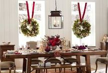 Deck the Halls this Christmas / Inspiration board of Christmasy things we've found in the world. Let's decorate for the holidays!
