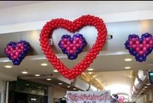 Valentine Decor / Balloons for Valentine's Day