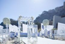 Theme: Beach wedding / Incorporate a beautiful beach theme into your dream wedding & set the scene with authentic seaside colours and decoration. www.weddingincrete.com