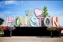 We Heart Houston / We love Houston. There is so much to draw inspiration from in this great city.