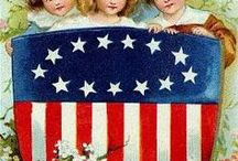 Fourth of July / Vintage July Fourth Postcards.