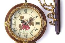 Time Keepers / Antique clocks that make you wonder about what was happening when they first appeared.