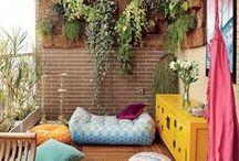 Color - Ambientes Coloridos / A Cor da Vida - objetos, móveis e paredes (imóveis), a cor é o que interessa...