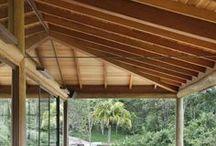 Cumeeiras & Forros (Telhados por dentro e por fora) / Cume+Eira -  As de madeira, com tesouras ou não, são obras de arte