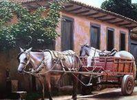 Minha Roça - Ambiente Rural / Roças; Tirar Leite; Galinheiro; Amansar Cavalo; Tocar o Gado; Cavalgadas; Carros de Boi;