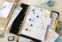 Journal   Planner / Journals, planners, and scrapbooks of every kind   SMASH* Book   Erin Condren   Plum Paper   Kikki.k   Webster's Pages   Moleskine l Basic Grey   Studio Calico   A Beautiful Mess   etc