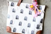 Fabric   Bag DIY / DIY purses, bags, clutches, and suitcases