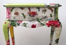 ♡ Painted Furniture ♡ / Beautiful painted furniture  / by jazzi crafts
