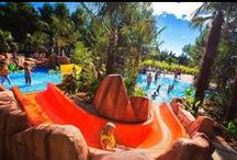 Solaris #Aquapark Splash Adventure / Is there a more desirable destination for people looking for water #adventure on a hot summer day?  The first #water park in the heart of Dalmatia and very rich attraction with unique #design.