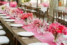 Rosa / Pink - Cores no Casamento