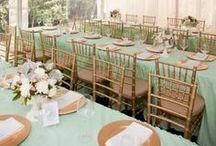 Verde Menta - Cores no Casamento