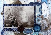 Scrapbooking - Powder Mountain by Bo Bunny