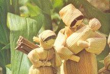 Crafting - Corn Husk Dolls