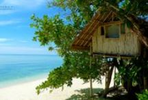 Castaway Shelters / Cozy accommodations on our desert islands