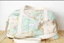 Fabric   Pouch Inspiration / Beautiful pouches, bags and purses by brands and indie designer-makers