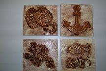 My work - Moje práce / Keramika, bižuterie, hračky
