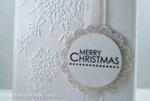 Christmas Cards / Hand made Christmas card ideas