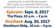 Job Events @ Snow / Need a student job, an internship, a career after graduation? Take advantage of campus job fairs and events to find your career or a part-time gig while in school.