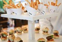 After wedding food ideas/Ideas para la recena de tu boda