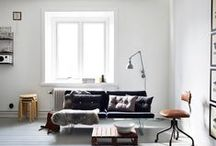 Studio apartment inspiration / Inspiration for small-and studio apartments