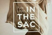 IN THE SAC - COLLECTION / In The Sac Linen - Laid-back luxury for your bedroom   #purelinen